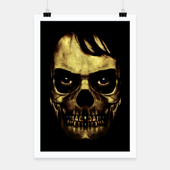 Thumbnail image of Angry Skull Monster Poster Poster, Live Heroes