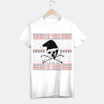 Miniaturka Scary Christmas  T-shirt regular, Live Heroes