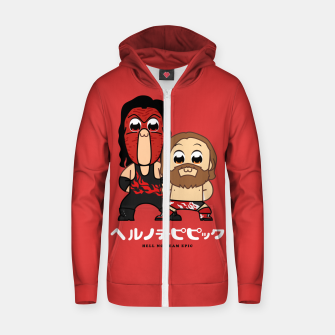 Miniaturka Hell No Team Epic Zip up hoodie, Live Heroes
