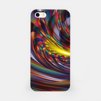Miniatur Metallic Color iPhone Case, Live Heroes