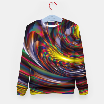 Thumbnail image of Metallic Color Kid's sweater, Live Heroes