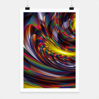 Thumbnail image of Metallic Color Poster, Live Heroes