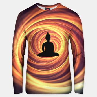 Thumbnail image of Silhouette of Buddha Unisex sweater, Live Heroes