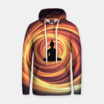 Thumbnail image of Silhouette of Buddha Hoodie, Live Heroes