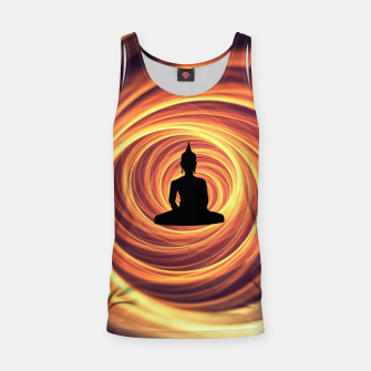 Thumbnail image of Silhouette of Buddha Tank Top, Live Heroes