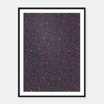 Thumbnail image of Snowy Rowanberry Grove  Framed poster, Live Heroes