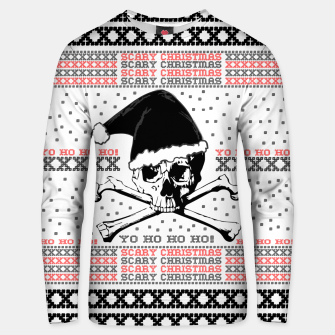 Thumbnail image of Scary Christmas  Unisex sweater, Live Heroes
