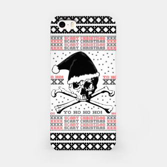 Miniatur Scary Christmas  iPhone Case, Live Heroes