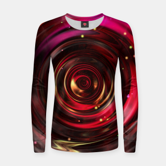 Miniatur Ripples In Space Time Women sweater, Live Heroes