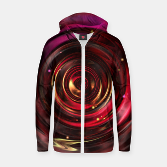 Miniaturka Ripples In Space Time Zip up hoodie, Live Heroes