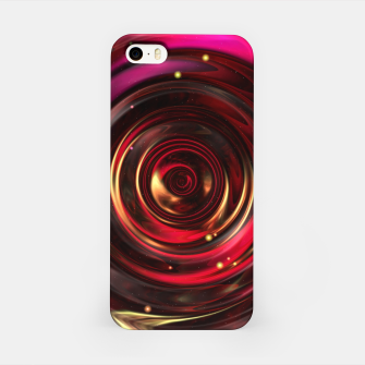 Miniatur Ripples In Space Time iPhone Case, Live Heroes