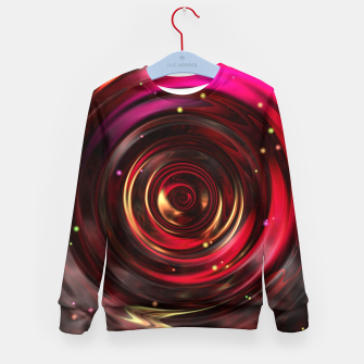 Thumbnail image of Ripples In Space Time Kid's sweater, Live Heroes
