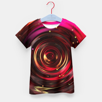 Miniatur Ripples In Space Time Kid's t-shirt, Live Heroes