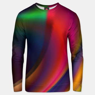 Metallic Color - Brush Strokes Unisex sweater thumbnail image