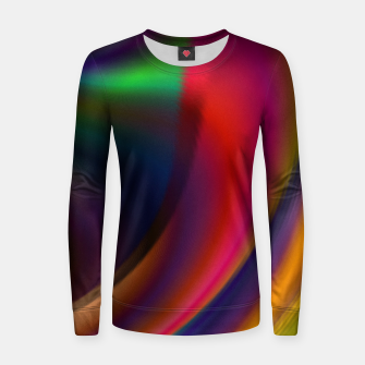 Metallic Color - Brush Strokes Women sweater thumbnail image