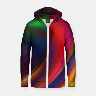 Miniaturka Metallic Color - Brush Strokes Zip up hoodie, Live Heroes
