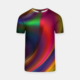 Metallic Color - Brush Strokes T-shirt thumbnail image