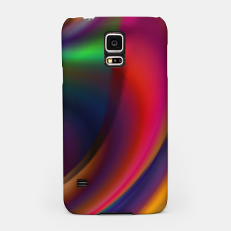 Miniatur Metallic Color - Brush Strokes Samsung Case, Live Heroes
