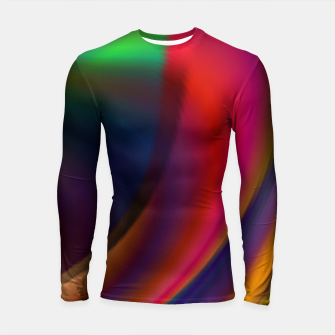 Metallic Color - Brush Strokes Longsleeve rashguard  thumbnail image