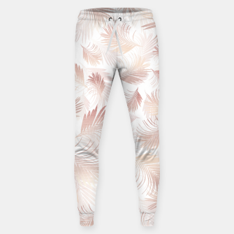 Imagen en miniatura de Tropical Rose Gold Palms Pattern #1 #tropical #decor #art  Hosen, Live Heroes