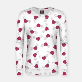 Miniatur Love is in the air - Light Women sweater, Live Heroes