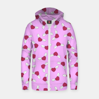 Miniaturka Love is in the air - Pink Zip up hoodie, Live Heroes