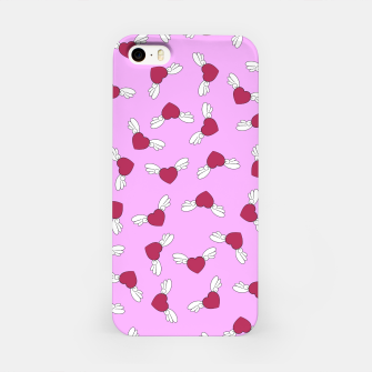 Miniatur Love is in the air - Pink iPhone Case, Live Heroes
