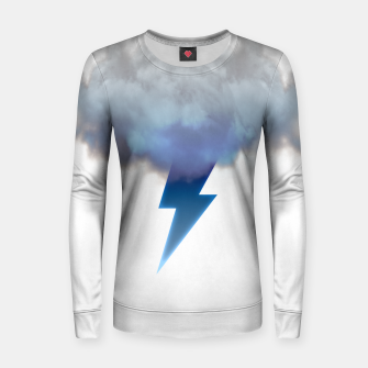 Miniatur Cloud Storm Women sweater, Live Heroes