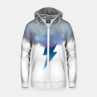 Miniaturka Cloud Storm Zip up hoodie, Live Heroes