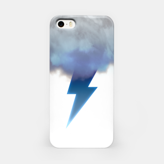 Miniatur Cloud Storm iPhone Case, Live Heroes