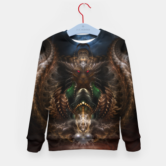 Thumbnail image of The Threllan Lions Kid's sweater, Live Heroes