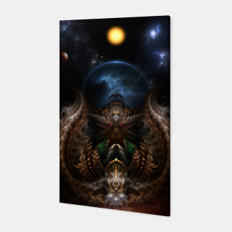 Thumbnail image of The Threllan Lions Canvas, Live Heroes