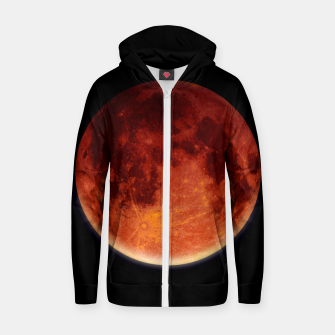 Miniaturka Super Blood Moon Zip up hoodie, Live Heroes