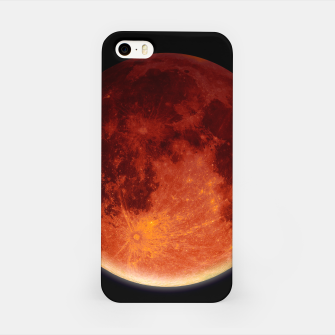 Miniatur Super Blood Moon iPhone Case, Live Heroes