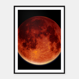 Thumbnail image of Super Blood Moon Framed poster, Live Heroes