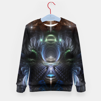 Thumbnail image of The Time Portal Kid's sweater, Live Heroes