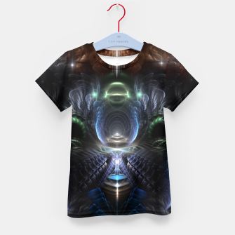 Thumbnail image of The Time Portal Kid's t-shirt, Live Heroes