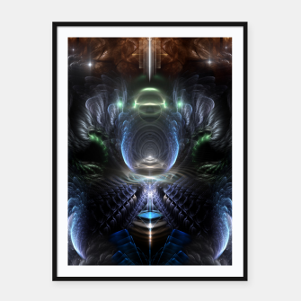 Thumbnail image of The Time Portal Framed poster, Live Heroes