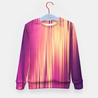 Thumbnail image of Dissolved Reality Kid's sweater, Live Heroes