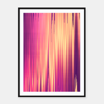 Thumbnail image of Dissolved Reality Framed poster, Live Heroes