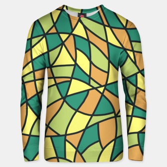 Miniatur Curved Mosaic 01 Unisex sweater, Live Heroes