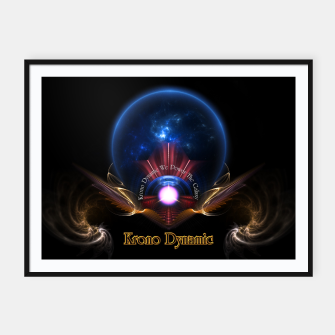 Thumbnail image of Krono Dynamic Framed poster, Live Heroes
