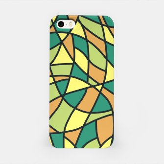 Miniatur Curved Mosaic 01 iPhone Case, Live Heroes