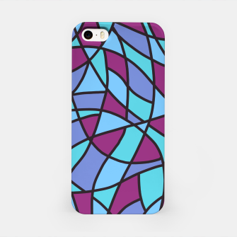 Miniatur Curved Mosaic 02 iPhone Case, Live Heroes