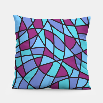 Miniatur Curved Mosaic 02 Pillow, Live Heroes