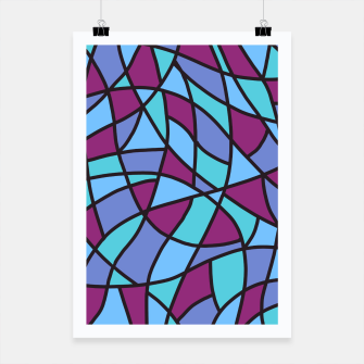 Thumbnail image of Curved Mosaic 02 Poster, Live Heroes