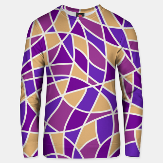 Miniatur Curved Mosaic 03 Unisex sweater, Live Heroes