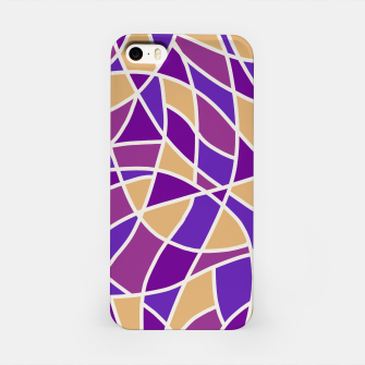 Miniatur Curved Mosaic 03 iPhone Case, Live Heroes