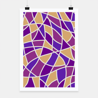 Thumbnail image of Curved Mosaic 03 Poster, Live Heroes