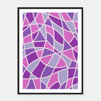 Thumbnail image of Curved Mosaic 04 Framed poster, Live Heroes